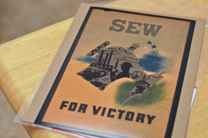Sew For Victory!