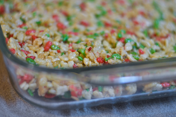 The Christmas Krispie Treats