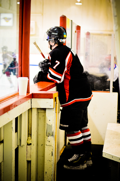 In the penalty box