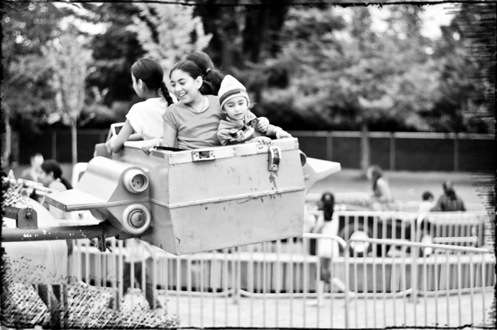 Kids on a ride