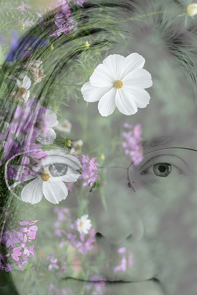 Me. And flowers.
