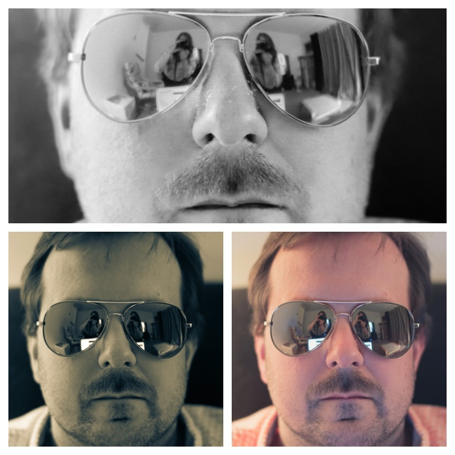 Mike in Triptych