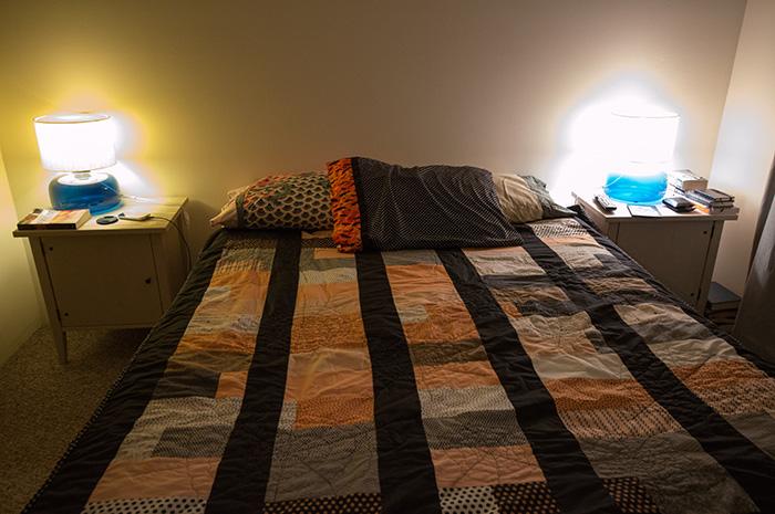 We'll be sleeping under this tonight!