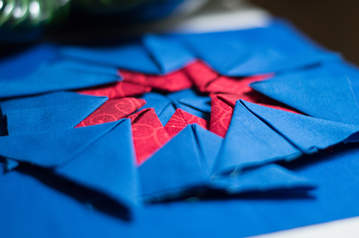 Folded Star bokeh