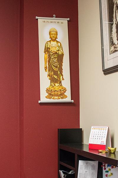 A Golden Buddha