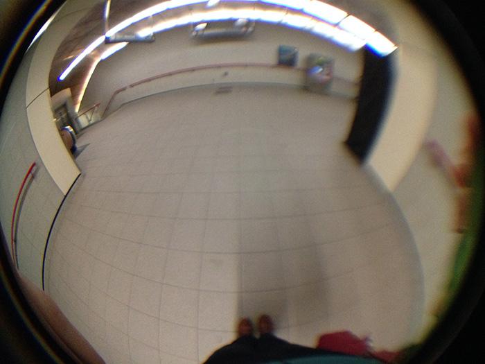 Skytrain hallway