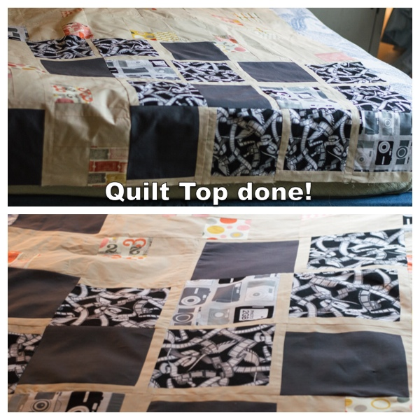 The quilt top is done!