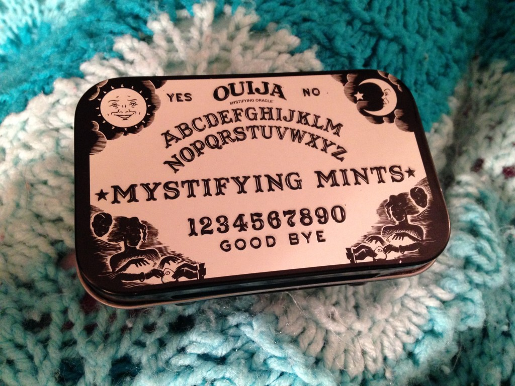 A tin of mystifying what?