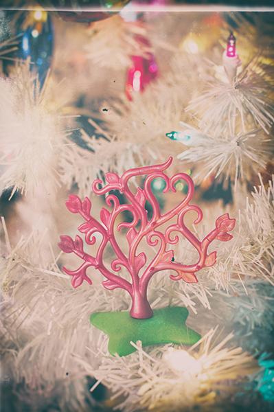 It's a pink tree