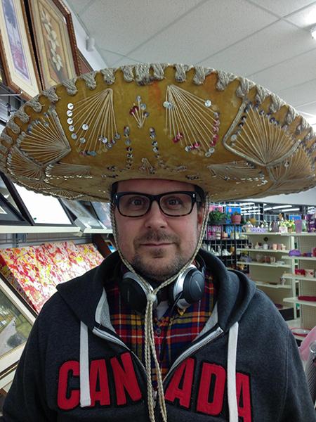 Sombrero time!