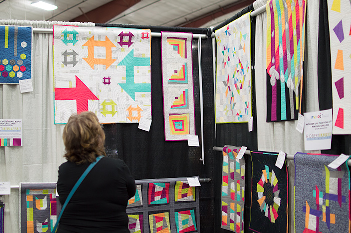 Quilts at the quilt show