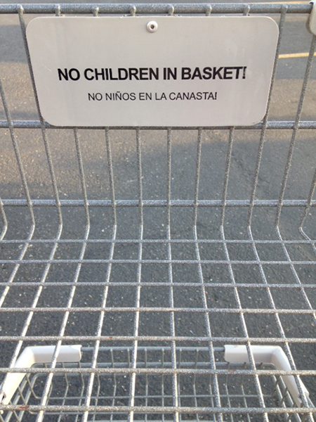 No children in the basket.