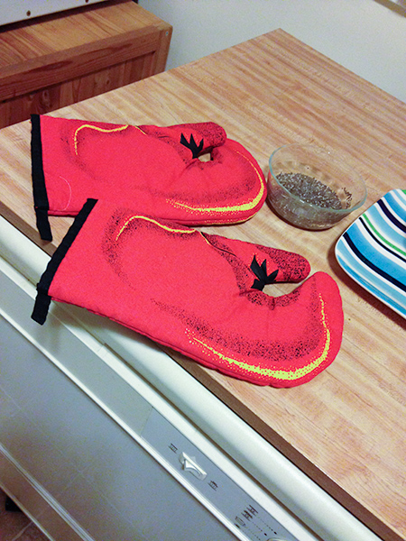 Lobster pot holders