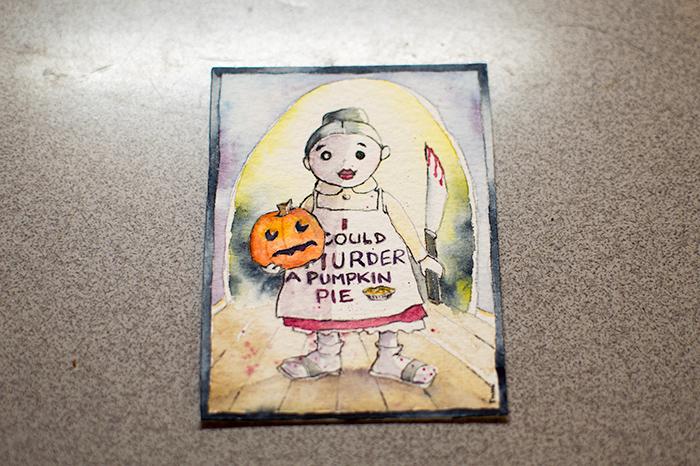 Murder a pumpkin pie
