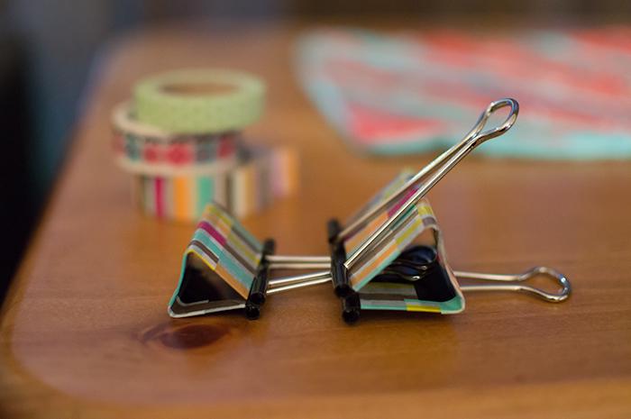 Bull clips.